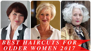 flattering hairstyles for mature women withnnice hair best haircuts for older women 2017 youtube