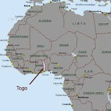 togo location on world map map of africa togo africa map