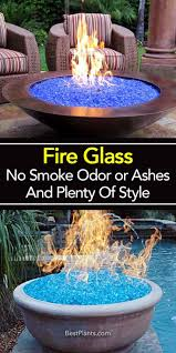 Glass For Firepit Glass No Smoke Odor Or Ashes And Plenty Of Style