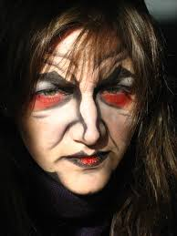 Red Witch Halloween Costume Witch Halloween Makeup Ideas Witch Makeup Evil Witch Witches