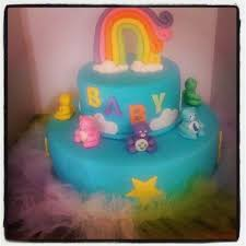 care baby shower 13 best 1 baby shower cakes images on care bears