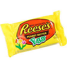 reese easter egg reeses peanut butter easter egg american candy in the uk