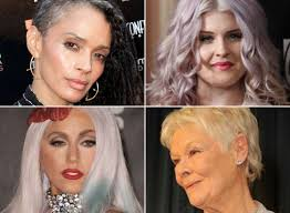 best hair color for hispanic women this is what gray hair is supposed to look like photos huffpost