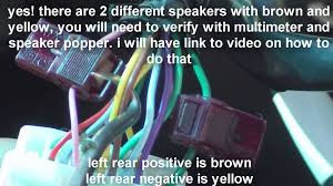 nissan altima coupe speaker sizes nissan altima stereo wiring 2013 2014 youtube