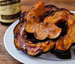 vanilla roasted acorn squash recipe
