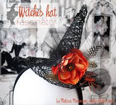 make your own witch u0027s hat fascinator the polkadot chair