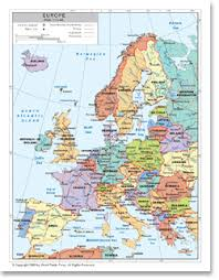 map western europe cities political map of western europe available as poster print or as