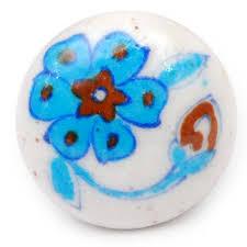 painted ceramic cabinet knobs hand painted ceramic cabinet knobs blue pottery jaipur neerja