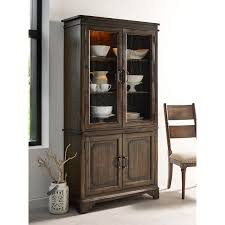 Vintage China Cabinets Vintage China Cabinet With Seeded Glass Doors And Touch Lighting