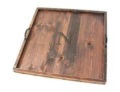 extra large ottoman tray reclaimed wood square large ottoman