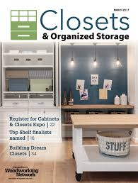 closets issue archives woodworking network