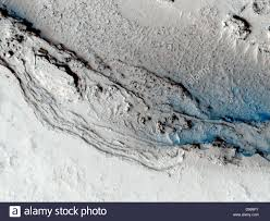 this image hows the funnel shaped terminus of lethe vallis a