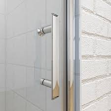 Frameless Bifold Shower Door Frameless Bifold 6mm Hinged Shower Doors Various Sizes