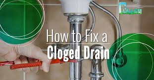 fixing a clogged drain culler plumbing clearing clogged drains for over 20 years call now
