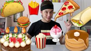 food food emoji food challenge youtube