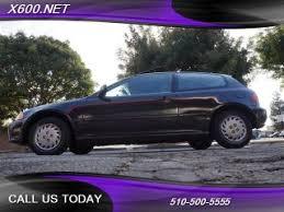 honda hatchback 1993 used 1993 honda civic hatchback pricing for sale edmunds