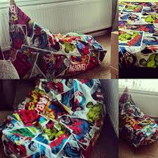 marvel teen size bean bag gaming chair my creations