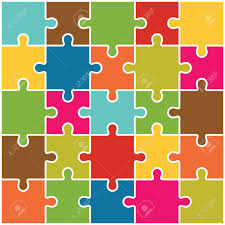 jigsaw puzzle pieces background vector royalty free cliparts