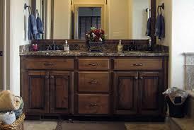 denver colorado custom bathroom cabinets vanities bath knotty