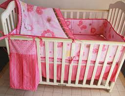Baby Crib Bed Skirt Promotion 5pcs Embroidery Crib Bed Linen Cot Baby Bedding