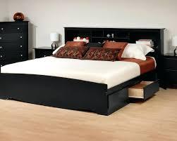 Black Bookcase Headboard Black Bookcase Bed Top Queen Storage Headboard Affordable Queen