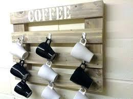 under cabinet coffee mug rack hanging mugs under cabinet nice how to hang coffee mugs under a