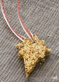 bird food ornaments for