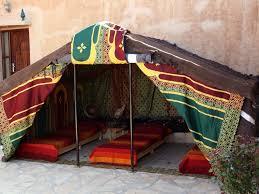 tente chambre tente berbere 3 places salle de bain commune province de