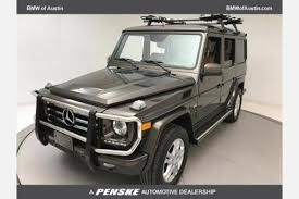 mercedes g class history used mercedes g class for sale special offers edmunds