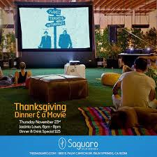 the saguaro palm springs thanksgiving presentation of planes