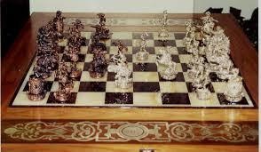 Chess Table Amazon Tigrani