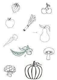 en couleurs à imprimer nature fruits numéro 9895