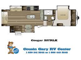 2017 cougar 327rlk 5th wheel cousin gary rv center