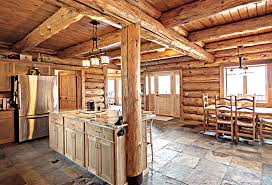 log cabin floors plan type 1500 square montana log homes