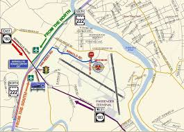 map of berks county pa driving directions maps to the mid atlantic air museum
