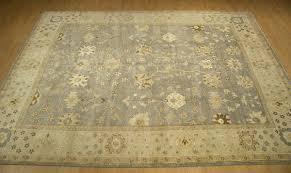 Azari Rugs 9x12 Handmade Vegetable Dye Wool Oushak Rug 2685