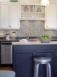Cobalt Blue Kitchen Cabinets Large Tile Backsplash Aqua Blue Backsplash Bathroom Tile Ideas