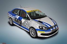 volkswagen race car vw vento cup for 2015 replaces the polo cup team bhp