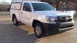 toyota service truck hd video toyota tacoma utility truck see www sunsetmotors com