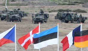 Position Of Flags Nato Plans Biggest Build Up Against Russia Since The Cold War
