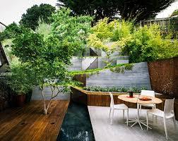 backyard architecture backyard landscaping ideas hilgard garden by mary barensfeld