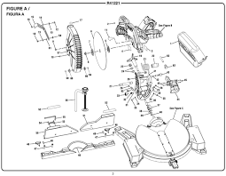 Ridgid Table Saw Parts Ridgid R41221 12