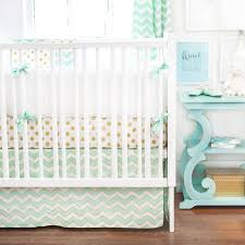 gold burst mint crib bedding set rosenberryrooms com