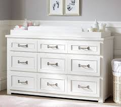 Dresser As Changing Table Belden Wide Dresser Changing Table Topper Pottery Barn