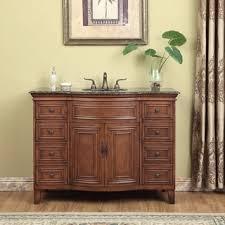 Brown Bathroom Cabinets by 41 50 Inches Bathroom Vanities U0026 Vanity Cabinets Shop The Best