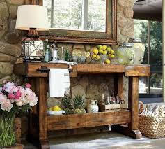 outdoor console table patio console table for a decoration on your backyard