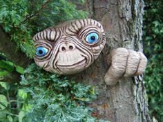 garden ornaments sculpture statues large tree faces