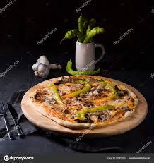 cuisine italienne pizza peperoni fraîche savoureuse pizza cuisine italienne photographie