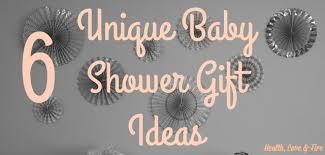 unique baby gift ideas health