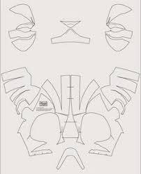dali lomo iron man paper free template fun projects